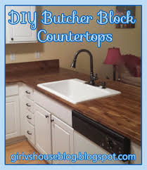 vs house butcher block countertops