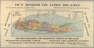 Long Island On Map Subject New York City Cornell University Library Digital