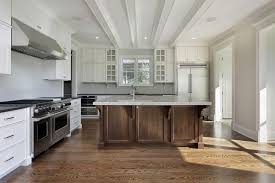 wood island kitchen wood and white kitchen best kitchens ideas on white kitchens with