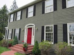 A Frame House Cost How To Paint Your House With Green Wall Color Theme With White
