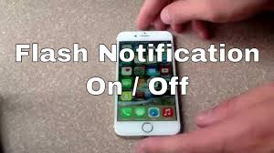 lights when phone rings iphone 6 iphone 6 plus how to turn flash notification on off