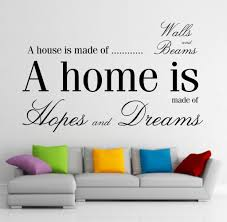 Wall Stickers For Home Decoration by Art Stickers Home Decor Quote For Living Room