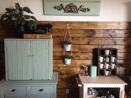 Wood Plank Shelves by The Baeza Blog Wood Plank Accent Wall Dining Room