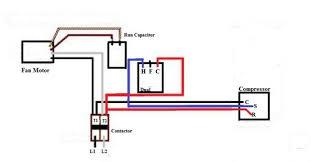 wiring diagram 4 wire condenser fan motor wiring diagram