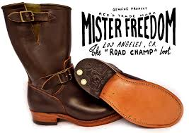 Images of Mens Brown Engineer Boots