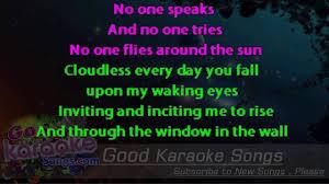 Pink Floyd Lyrics Comfortably Numb Echoes Pink Floyd Lyrics Karaoke Goodkaraokesongs Com