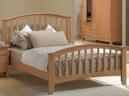wooden double bed frame youtube