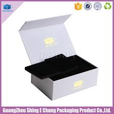simple design white cardboard gift boxes with magnetic lid