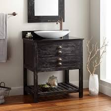 Distressed Wood Bathroom Vanity Bathrooms Design Small Floating Reclaimed Wood Bathroom Vanity