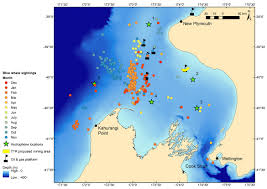 Yachats Oregon Map by Distribution Archives Geospatial Ecology Of Marine Megafauna