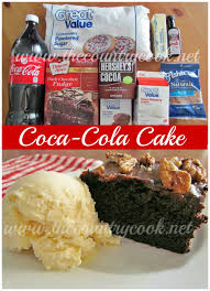the country cook coca cola cake interesting i wonder how this