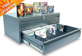 metal storage cabinet with drawers black 2 drawer cd dvd video game metal storage media cabinet 21
