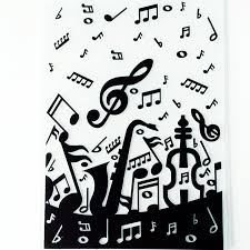 Embossing Templates Card Making - aliexpress com buy ylef087 music plastic embossing folder for