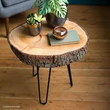 tree ring coffee table tree ring coffee table wood slice table how to make a wood side