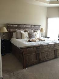 diy king size headboard have dad help me build and then paint it