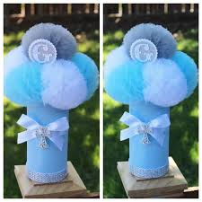 Centerpieces For Boy Baptism by First Communion Centerpiece Decorations Baptism By Uptownabby