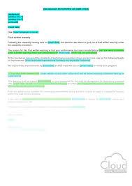 final warning confirmation letter poor performance u2013 cloudlegal