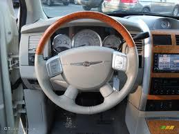 chrysler steering wheel 2008 chrysler aspen limited dark slate gray light slate gray