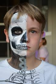 Halloween Skeleton Faces by Skeleton Face Painting Halloween Halloween Ideas Pinterest