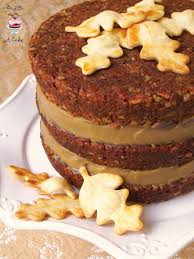 thanksgiving chocolate dessert bird on a cake pecan pie cake