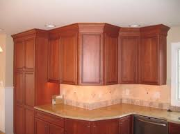 Lovely Crown Molding On Kitchen Cabinets Hi Kitchen - Crown moulding ideas for kitchen cabinets