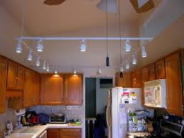 Ceiling Lights For Kitchen Led Track Lighting Fixtures Kitchen Installing Led Track