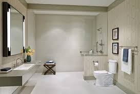 barrier free bathroom design benefits of barrier free showers why curbless showers are a