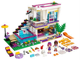 lego friends livi u0027s pop star house 41135 toys