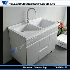 Solid Surface Bathroom Countertops by Acrylic Solid Surface Bathroom Vanity Counter Top High Gloss