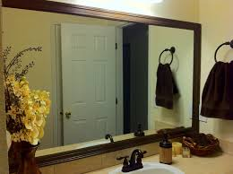 bathroom mirrors with frames