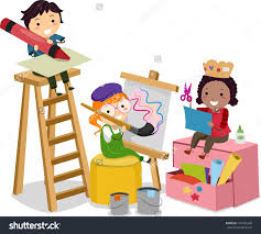 kids crafts stock photos images pictures shutterstock illustration