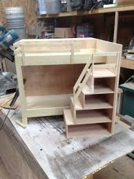 Woodworking Plans For Doll Bunk Beds by Doll Bunkbed Woodworking Talk Woodworkers Forum