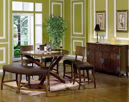 Green Dining Room Ideas Green Dining Set Decoration Home Interior