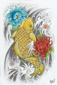 tattoo beautiful art of japanese koi fish tattoos with image