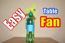 how to make a fan how to make an electric table fan from bottle easy tutorials
