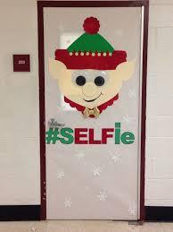 Christmas Classroom Window Decorations by Elf Christmas Door Decorating Contest Christmas Fun Pinterest