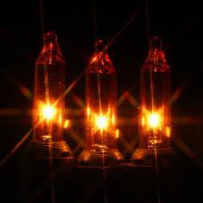 orange christmas lights on black wire 50 bulbs