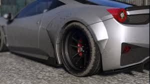 ferrari 458 widebody prior design ferrari 458 widebody add on tuning liveries