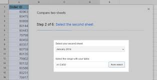 compare columns or sheets for duplicates in google sheets