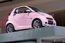 smart car pink smart brabus tailor made frankfurt 2011 picture 59141
