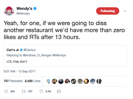wendy s just destroyed carl s jr in a feud