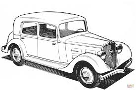 peugeot 301cr coloring page free printable coloring pages
