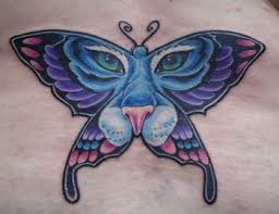 feminine colored butterfly tiger fmag com