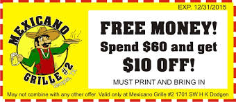 food coupons mexican food coupons for temple mexicano grille 2 best