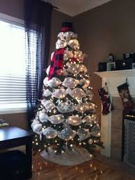 snowman tree all around the tree
