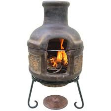 Ceramic Fire Pit Chimney - inspirations fire pits lowes chimera fire pit clay chiminea lowes