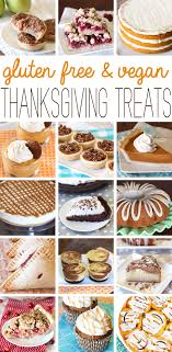 gluten free vegan thanksgiving treats bakes gluten free
