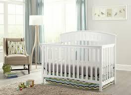 White Convertible Crib by Graco Charleston 4 In 1 Convertible Crib U0026 Reviews Wayfair
