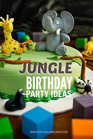 jungle theme birthday party jungle birthday party ideas