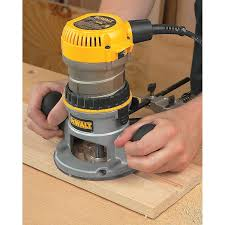 dewalt dw616 1 3 4 horsepower fixed base router power routers
